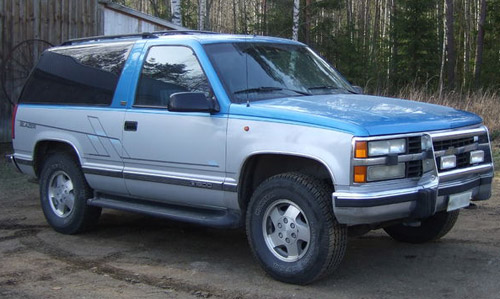 Download Chevrolet Blazer repair manual