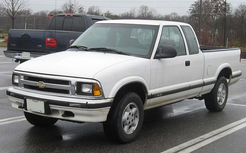 Download Chevrolet S-10 Pickup repair manual