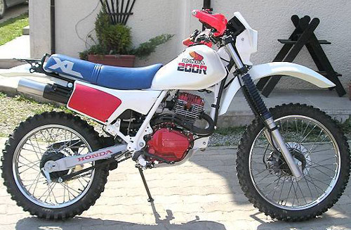 Download Honda Xl125 Xl200 Xr125 Xr200 repair manual