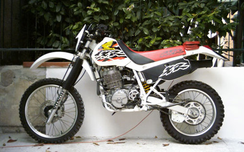 Download Honda Xr600r repair manual