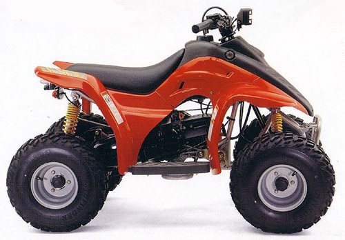 Download Hyosung Wow 90-100 Atv repair manual