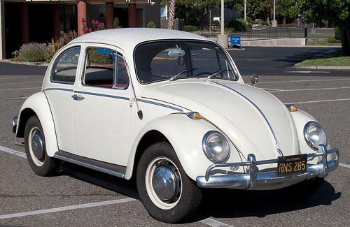 Volkswagen Beetle Karmann Ghia 1954