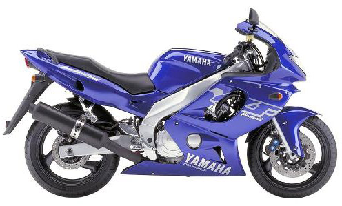 Download Yamaha Yzf-600 repair manual